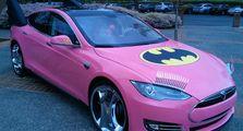 Modifikasi Batmobile Paling 'Cetar Membahana', Basisnya Mobil Listrik