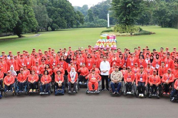 Indonesia meraih posisi lima besar di Asian Para Games 2018