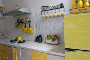 349+123+ Contoh Desain Dapur Warna Kuning Terbaik
