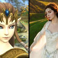 """Keren! Gaun Pengantin Ini Terinspirasi Dari Game """"The Legend of Zelda"""""""