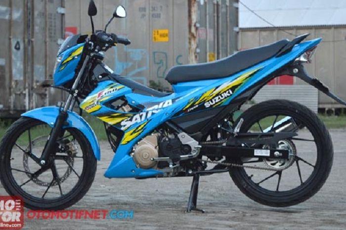 Ilustrasi. Suzuki Satria F150