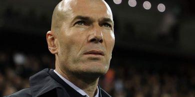 Kebobolan 3 Gol di Babak Pertama, Zinedine Zidane Akui Real Madrid Kurang Percaya Diri