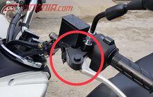 Pasang Parking Brake Lock Aftemarket Di Honda All New PCX 150 Cuma Rp 200 Ribuan, Bro
