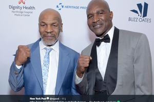 Tantang Mike Tyson Duel Lagi, Evander Holyfield: Tandatangi Kesepakatan dan Cepat Naik Ring Tyson!