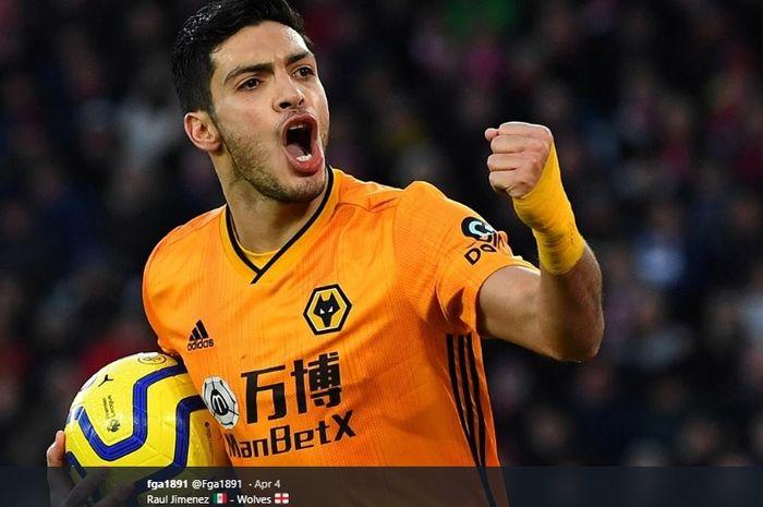 Striker Wolverhampton Wanderers, Raul Jimenez.