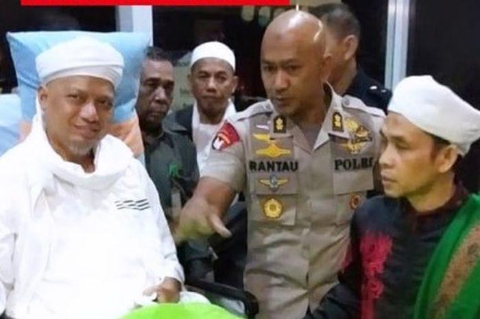 Naik Jet Pribadi, Ustaz Arifin Ilham Diterbangkan ke Malaysia untuk Berobat