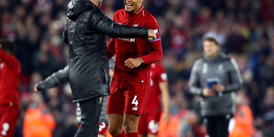 Van Dijk Sempat Terkejut dengan Sesi Latihan Liverpool di Bawah Asuhan Juergen Klopp