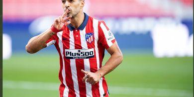 Cetak Rekor, Luis Suarez Dapat Angin Segar di Atletico Madrid