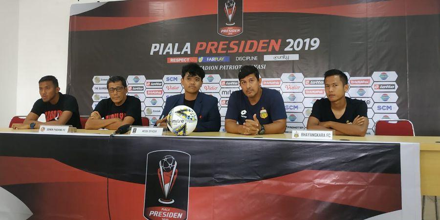 Link Live Streaming Bhayangkara FC Vs Semen Padang di Piala Presiden 2019