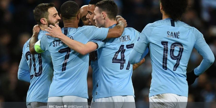 Performa Quadruple Winner, Manchester City 91% Sempurna pada 2019
