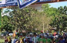 Tempuh 186,6 Kilometer, Start Etape 1 Tour d'Indonesia 2019 Digelar di Candi Borobudur