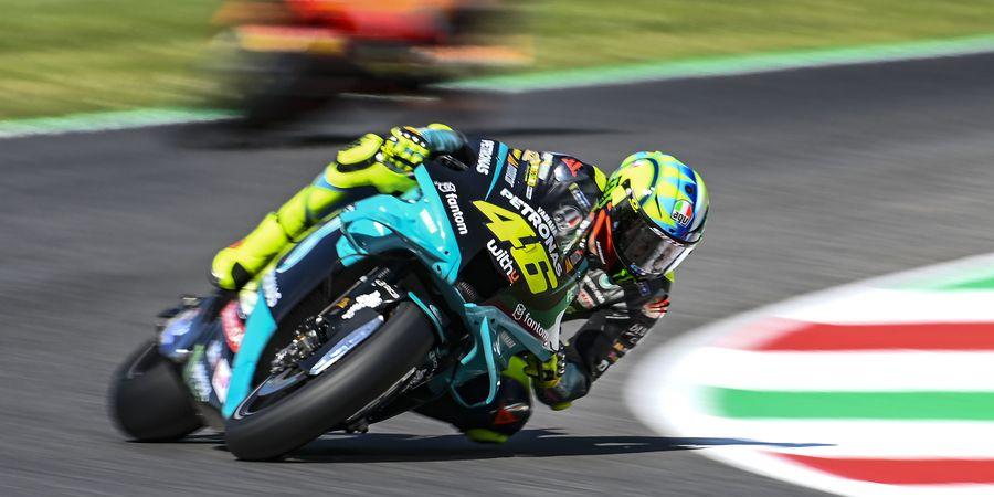 Hasil Kualifikasi MotoGP Italia 2021 - Helm Spesial Tak Beri Valentino Rossi Tuah