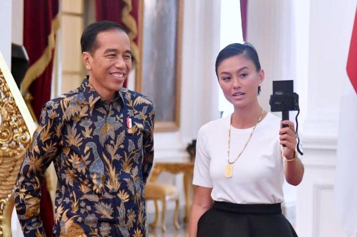 Wakili Generasi Muda Agnez Mo Datang ke Istana, Ini yang Dia Sampaikan Kepada Presiden Jokowi Wakili Generasi Muda