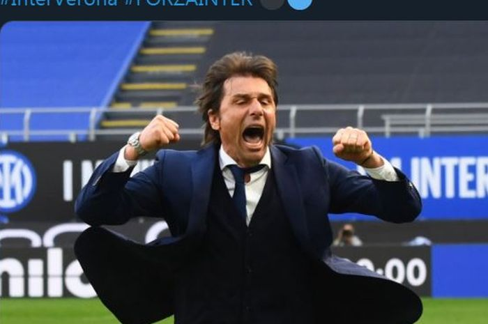 CEO Inter Milan, Giuseppe Moratta, mengatakan bahwa tim asal Milan itu tak menjamin akan mempertahankan Antonio Conte pada musim depan.