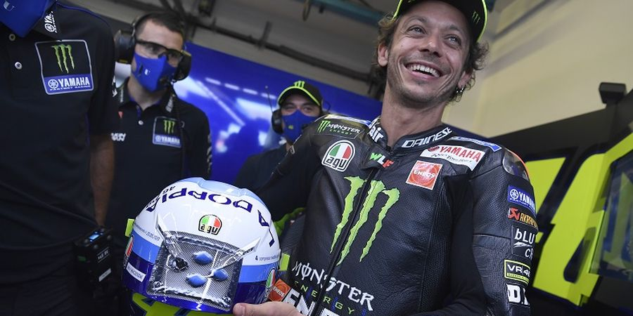 Sudah Sah, Valentino Rossi Tampil Pertama Kali Pakai Seragam Petronas Yamaha SRT