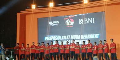 Sebanyak 19 Pesepak Bola Muda Indonesia Diberangkatkan ke Spanyol