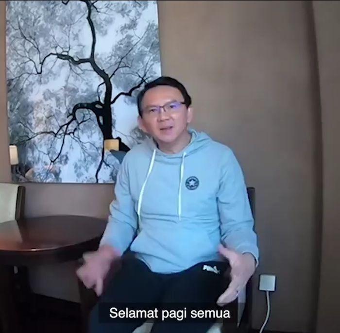 Ahok buat video klarifikasi tentang hubungannya dengan PND dan Harta Gono-gini