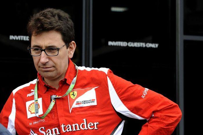 Mattia Binotto akan memimpin tim F1 Ferrari mulai musim 2019