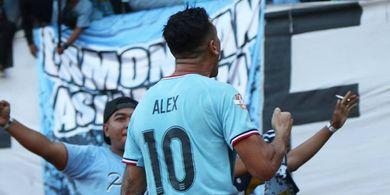 Alex do Santos Bawa Persela Ungguli Bali United di Babak Pertama
