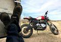 Jangkung Abis! Triumph Bonneville T100 Jarak Travel Suspensinya Sampai 9 inci