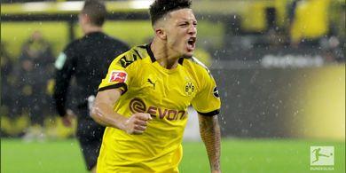 Borussia Dortmund Bersedia Terima Cicilan Manchester United untuk Jadon Sancho