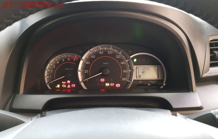 Panel Instrumen Toyota Avanza dan Toyota Veloz Terbaru