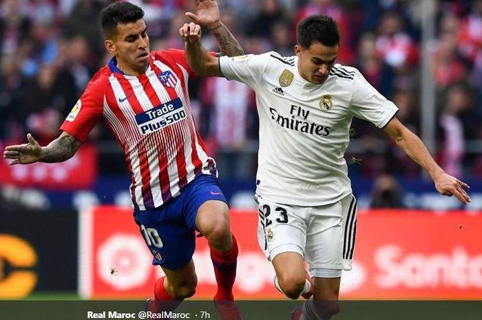 Pemain muda Real Madrid, Sergio Reguilon tampil luar biasa saat menghadapi Atletico. Dirinya siap merebut tempat utama di posisi bek kiri milik Marcelo.