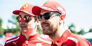 Charles Leclerc Ungkap Gaya Balap yang Berbeda dengan Sebastian Vettel