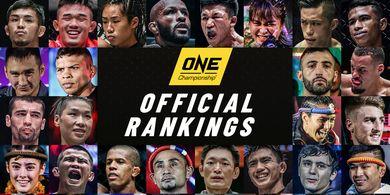 ONE Championship Umumkan Peringkat Petarung untuk Pertama Kalinya