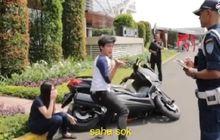 Video Kocak, Usai Scoopy Dirusak, Ada Parodi  XMAX Susah Dibanting