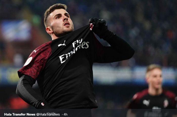Penyerang muda AC Milan, Patrick Cutrone