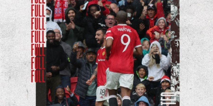 Hasil Pramusim Manchester United - Sancho dan Varane Belum Gabung, Setan Merah Atasi Perlawanan Everton
