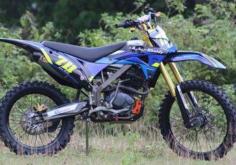 Keren, Honda Tiger Iseng-iseng Dimodif, Malah Berubah Jadi Motor Trail