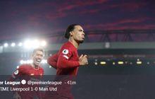 Cetak Gol ke Gawang Manchester United, Van Dijk Mengaku Bahagia