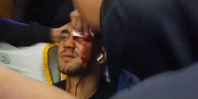 Penyerang Persija Marah Besar Bus Persib Pecah Hingga Pemain Berdarah