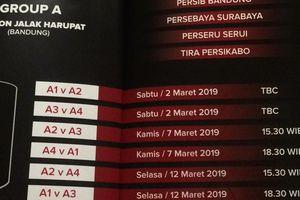 Jadwal Grup B Piala Presiden 2019 - Dua Klub dengan Nasib Berbanding Terbalik Akan Berduel
