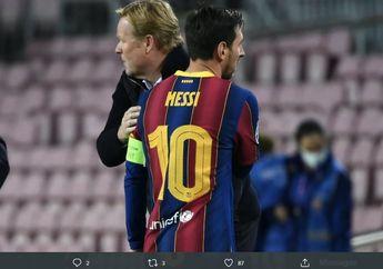 Soal Kartu Merah Lionel Messi, Ronald Koeman: Saya Bisa Mengerti