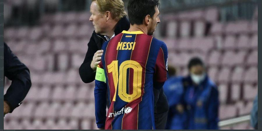 Soal Komentar Bos Barcelona Jual Lionel Messi, Ronald Koeman Tidak Tenang