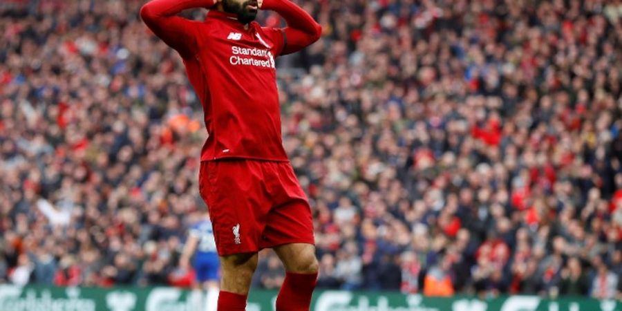 Tottenham Vs Liverpool, Mohamed Salah Cetak Gol Tercepat Ke-3 di Final Liga Champions