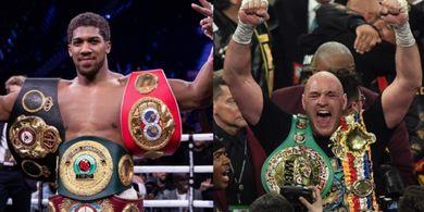 Promotor Sebut Duel Anthony Joshua vs Tyson Fury Bisa Dapat Cuan Mayweather