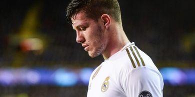 Curhat Luka Jovic, Sadari Real Madrid Bukan Levelnya
