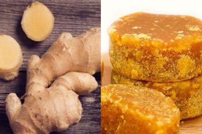 Campuran Jahe dan Gula Merah baik untuk kesehatan