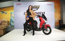 Mojang Bandung Pengguna Yamaha NMAX Sah Jadi Juara Maxi Lady