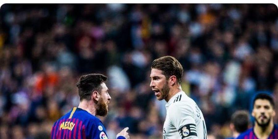 Sergio Ramos Rela Lakukan Hal Ini Jika Lionel Messi Mau Pindah ke Real Madrid