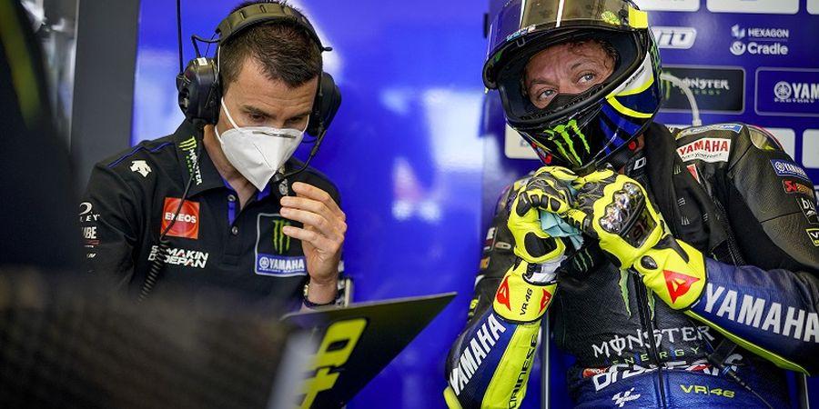 MotoGP Republik Ceska 2020 - Valentino Rossi Keluhkan Kondisi Aspal Sirkuit Brno