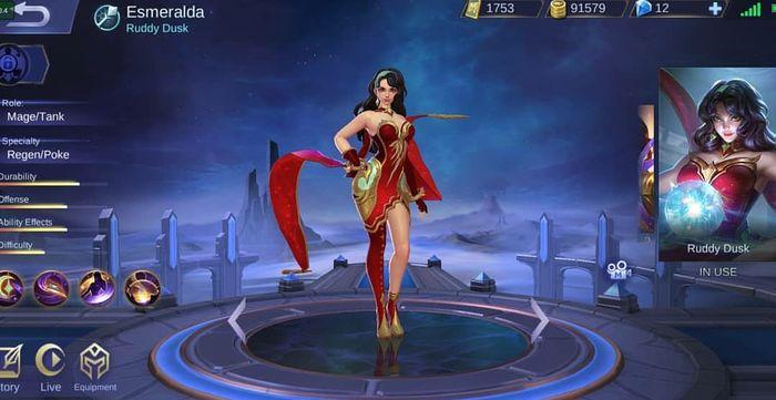 Skin Esmeralda