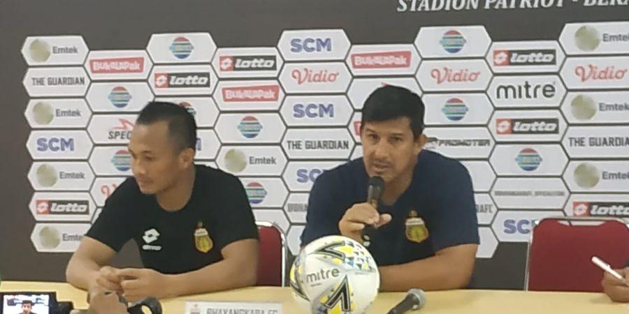Pelatih Bhayangkara FC Tak Sempat Saksikan Pertandingan PSM Makassar