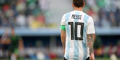 Messi Ogah Tukar Jersey dengan Pemain yang Mirip Raditya Dika