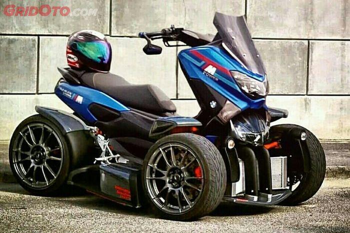 Yamaha NMAX modif ala ATV