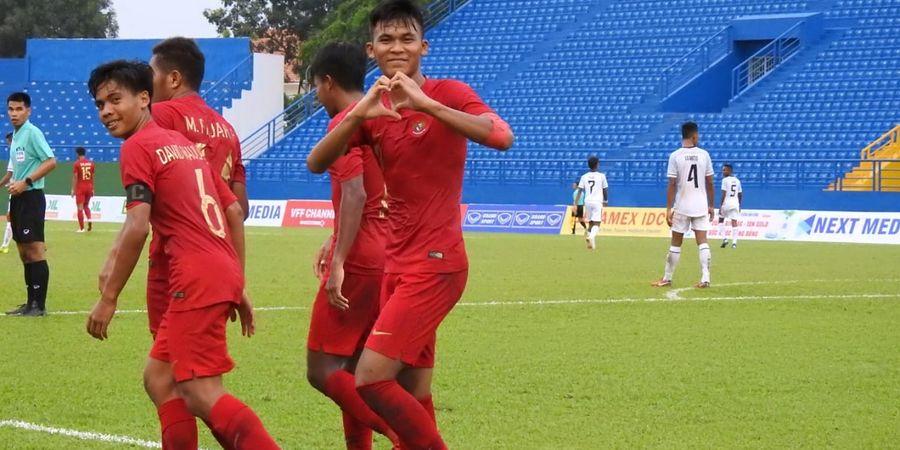 SEDANG BERLANGSUNG - Link Live Streaming Piala AFF U-18, Timnas U-18 Indonesia Vs Laos